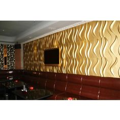 """Give your room extra depth and dimension by adding a unique 3D decorative wall covering.  EnduraWall panels brings your room to life by adding a unique design element that turns an ordinary wall into a focal point.  With dozens of designs to choose from, you can transform your room into a talking point or simply give a boring wall new life by using a design that provides subtle texture.  Higher-quality and more durable than the standard """"fiber"""" wall panels, our EnduraWall panels are..."""