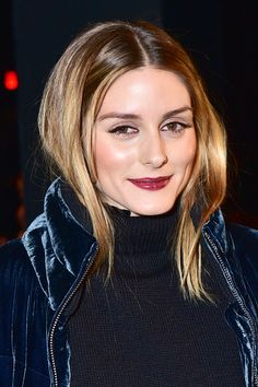 Olivia Palermo attends the Prabal Gurung show during New York Fashion Week at Skylight Clarkson Sq on February 12 2017 in New York City