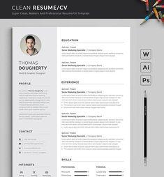 Resume On Google Docs Resume Template Cv Google Docs Bygraphicsauthor  Cv Design .