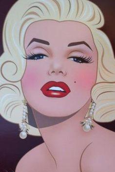 Marilyn Monroe Art ♥
