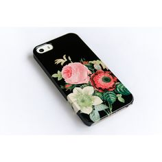 iPhone 6 Case Floral iPhone 5 Case, Floral iPhone 5C, Floral iPhone 4,... ($29) ❤ liked on Polyvore featuring accessories, tech accessories, iphone cases, flower iphone case, apple iphone case, slim iphone case and vintage iphone case