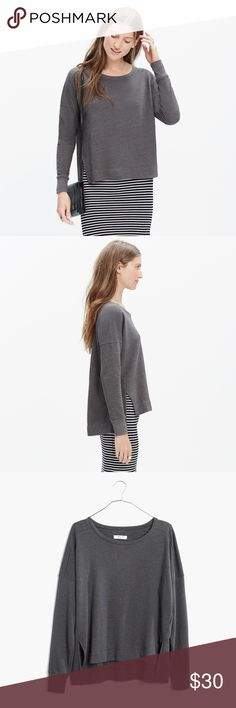 ADDITONAL 50% OFF! Madewell Grey Sweater Good Condition! Has some piling Madewell Sweaters
