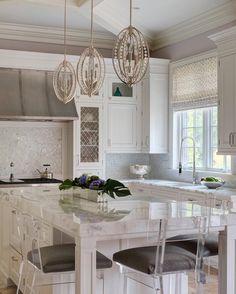 Cabinets, backsplash