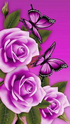 Best Flower Wallpaper, Bling Wallpaper, Happy Wallpaper, Butterfly Wallpaper Iphone, Flower Background Wallpaper, Beautiful Flowers Wallpapers, Beautiful Rose Flowers, Beautiful Nature Wallpaper, Heart Wallpaper