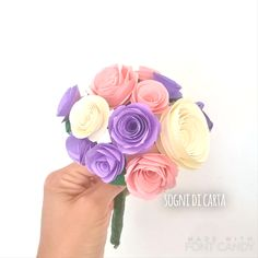 Bouquet di carta