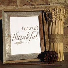 Thanksgiving Instant Download Printable Digital Art