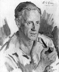 Leslie Howard by Reginald G. Eves
