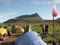 Polish tent on Fjallraven classic 2012