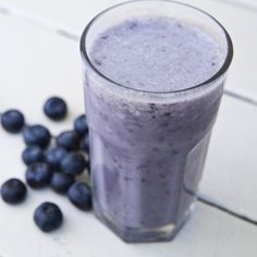 Blueberry-nana Smoothie - brain healthy foods