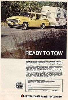 1967 International Travelall ~ I started learning to drive in a Red Travelall like this one owned by my dad. lol Driving it was a pain in the ass!!