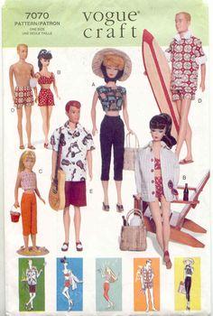 Barbie & Familie naaipatronen