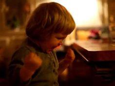 What happens: A small girl watches as her toy truck rolls off the side of a table, then laughs maniacally. | Top 12 Funniest Videos Of 2013