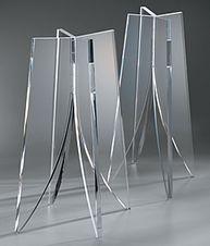 Quadraspire QX600 speaker stands: Acrylic