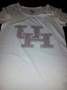 Check out this item in my Etsy shop https://www.etsy.com/listing/209137452/u-of-h-bling-shirt