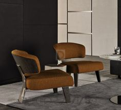 #chair #furniture #design #interior  стул без подлокотников Minotti Ceed, MSW6O