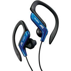 Jvc Ear-clip Earbuds (blue)