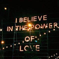 """""""I believe in the power of love"""" ❤️ #loversanddriftersclub"""