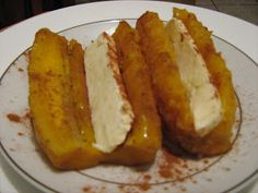Plátanos Maduros con queso!