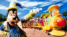 Come & see 'Goofy and the 20th Anniversary Train' at Disneyland Paris with thedreamtravelgroup.co.uk