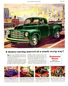 1951 Studebaker Truck Ad