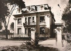 10 Casarões da Avenida Paulista para matar saudades: Residência de Horácio Espíndola – 1925, projeto do Escritório Técnico Ramos de Azevedo: