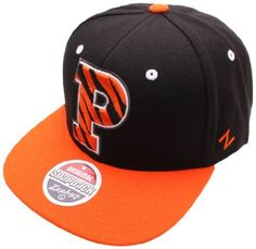 NCAA Princeton Tigers Refresh Snapback Cap, Black by Zephyr. $15.95. Adjustable snapback hat. 65% Acrylic / 35% Wool. Officially licensed hat. Memory visor. Zephyr snapbacks are constructed to meet the desires of the consumer. Zephyr hats feature professional embroidery and detailed raised logos. The Zephyr Memory Visors are constructed with the best materials allowing you to bend the brim or keep it flat.  About Zephyr Zephyr was established in 1993 by former retailer...