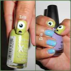 Monsters Inc. Design... nailed it! #nails
