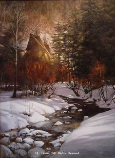 """""""Shades of Winter"""" Native American Prints by J. Hester kK"""