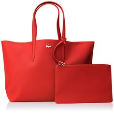 Lacoste NF2142AA femme Anna Sacs bandouliere Multicolore (High Risk Rumba Red): Amazon.fr: Chaussures et Sacs