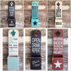 Your Friends Just Aren't That Interesting. Funny Sayings on Wooden Beer Bottle Opener Wooden Beer Bottle Openers available in a variety of sayings and color combinations.Wooden Beer Bottle Openers available in a variety of sayings and color combinations. Beer Signs, Diy Signs, Beer Crafts, Diy Crafts, Beer Bottle Crafts, Diy Wood Projects, Woodworking Projects, Woodworking Plans, Sketchup Woodworking