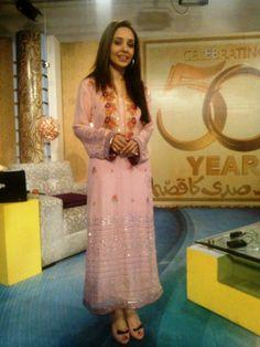 Mukesh pink dress by Stitch Fine