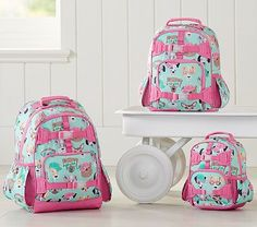 Mackenzie Cool Dogs Aqua Backpack #pbkids