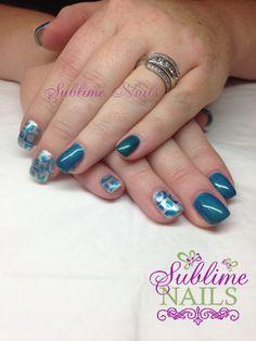 Nails by Sublime Nails~ www.sublimenails.ca #GelNails #YEG