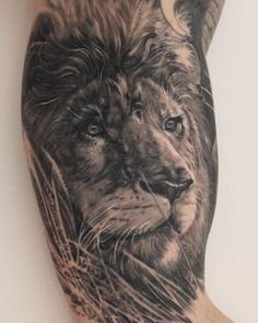 Never Stop Moving Forward, #healed  #lion by boristattoo...