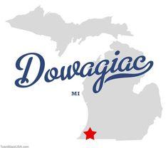 Dowagiac, Michigan | Map of Dowagiac Michigan MI