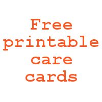 Free, printable care cards (not food safe, HTV washing instructions, and not dishwasher safe) for your Silhouette Cameo business