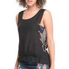 Débardeur ouvert Urban Chic, Ali, Basic Tank Top, Street Wear, Tank Tops, Collection, Women, Fashion, Open Set