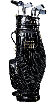 AMBROSI ABRIANNA Crocodile Golf Bag  $62,000.00