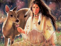 Native American Women Drawings | Native American Women Art | Native American Wallpapers | Native Art