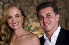 Angélica e Luciano Huck (Foto: Ellen Soares/TV Globo)