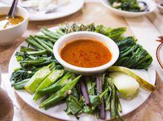 Myanmar Vegetable with Relish