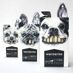Whitebites  - similar design: gum for humans?