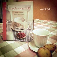 """Fragole a merenda"" a casa di Carla... per l'ora della merenda! #quifragoleamerenda"