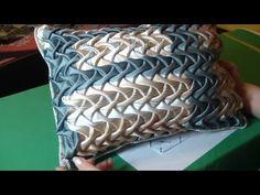 Буфы схема Колос, сборка и пошив подушки. - YouTube
