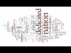 Word Clouds & Spiral Questions - Gettysburg Address