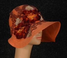 Wide Brimmed Summer Hat, 1920's