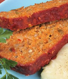 Lentil Loaf (This is amazingly delicious!)