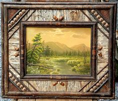 The Ralph Kylloe Gallery - original frame & oil painting by Veronica Nemethy - magnificent!