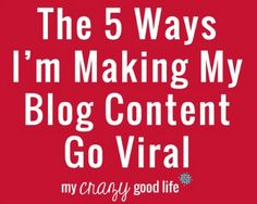 Roundup Of Tips and Tricks For Bloggers – My Crazy Good Life