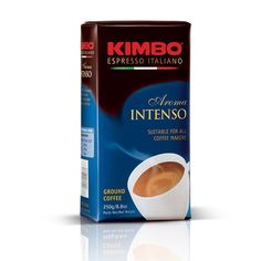 Kimbo Espresso Aroma Intenso Ground Coffee 250g brick -- See this great product @ http://www.amazon.com/gp/product/B00J5MZSAQ/?tag=pincoffee-20&ptu=060716095032